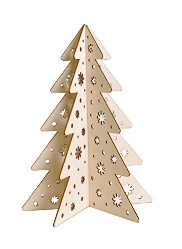 Him DL0077 messe de Minuit Blanc Cass/é - photophore en Porcelaine Christmas Mass 12x12x8 cm