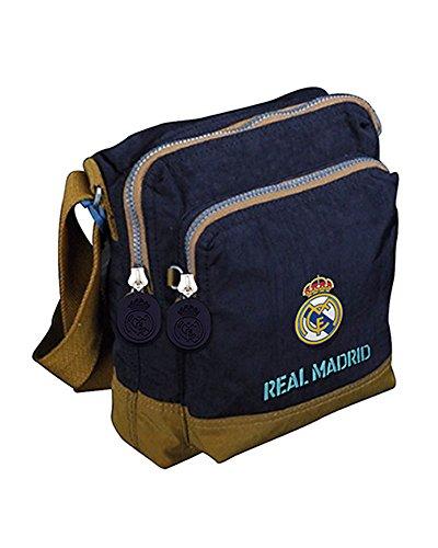 Real Madrid BD-83-RM Bandolera Portadiscman Bolsillo