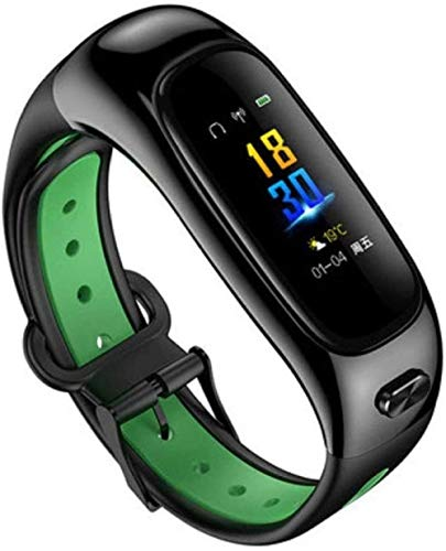 Fitness trackers Smart Band Fitness reloj 2 en 1 Pulsera Bluetooth Auricular Impermeable Deportes Salud Paso