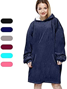 Felicigeely Soft Warm Comfortable Blanket Sweatshirt
