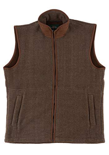 Alan Paine - Aylsham Fleece, Aylsham Gents Fleece Waistcoat, chaleco de hombre de invierno, ajuste...