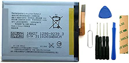 for Sony Xperia XA F3116 Replacement Battery LIS1618ERPC Free Adhesive Tool