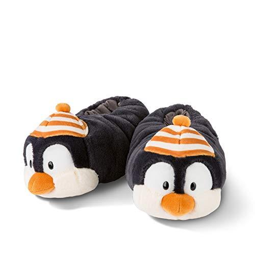 NICI 45746 NICI Hauschuhe Pinguin Peppi Gr. 38-41 – Plüsch-Hauschuhe rutschfest – Warme Kuscheltier Hausschuhe Winter für Jungen und Mädchen – Tier-Schuhe mit Anti-Rutsch Sohle – Slippers