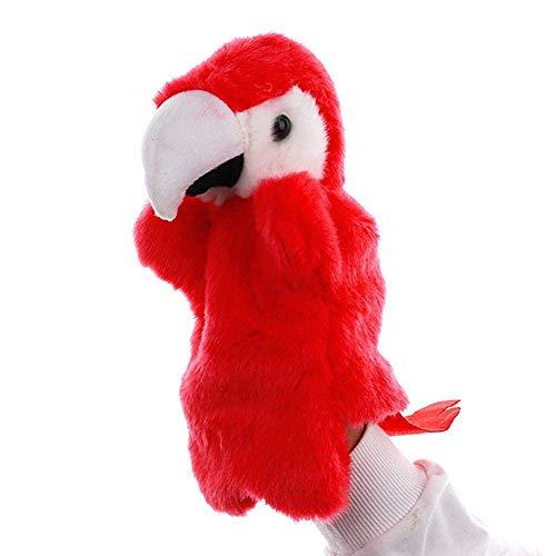 BLTR Soft Kindergarten Bella Cartoon Parrot Giocattolo Storytelling Regalo dei Bambini del puntello Uccello Sveglio Animal Strumento didattico .Realistico.