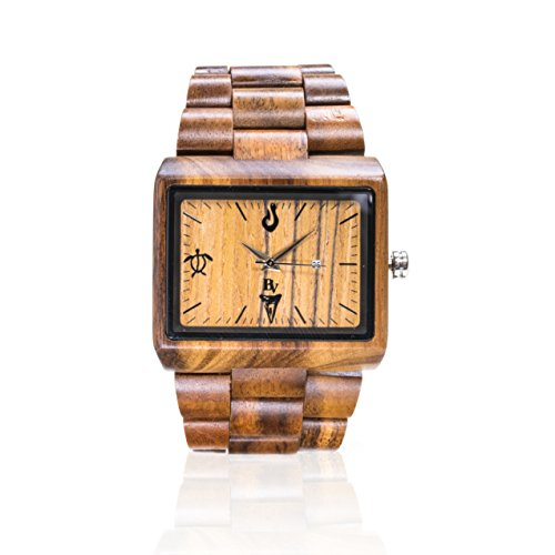 Vanilla & Bean Wood Watch