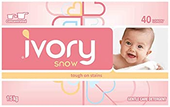 Ivory Snow Gentle Care Laundry Detergent 40 Loads  4 packs  total 160 loads and total of 6 kilos
