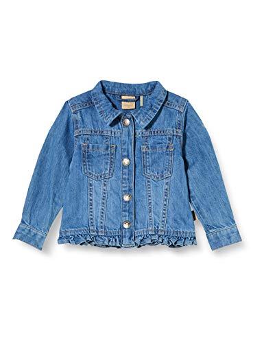 Bellybutton mother nature & me Baby-Mädchen Jeans Jacke, Blau (Blue Denim|Blue 0013), (Herstellergröße: 80)