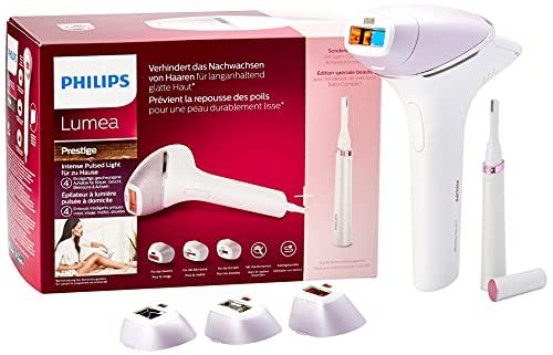Philips Lumea Prestige IPL BRI949 – Depilación basada en luz para una piel lisa y duradera –...