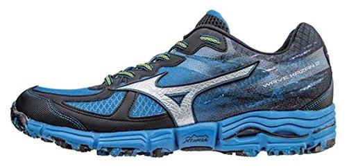 Mizuno Wave Kazan 2 Zapatillas, Hombre, Azul, 44