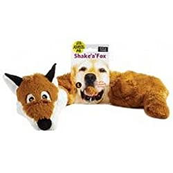 Soft plush toy with internal squeaker. Various animals available. Available in multiple sizes.