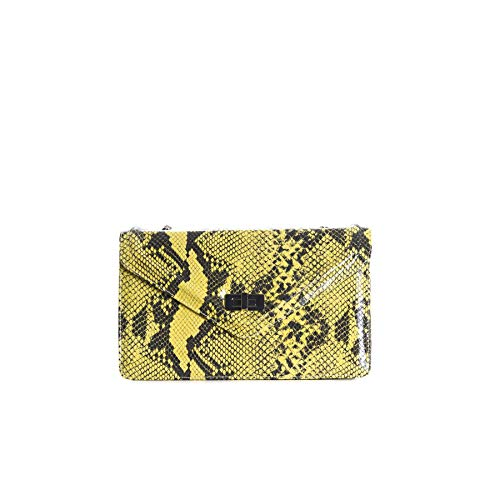 L'Intervalle Amandine, Bolso para Mujer, Yellow Snake, MEDIANO