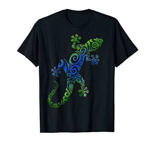 Gecko Eidechse Reptilien Terraristik T-Shirt