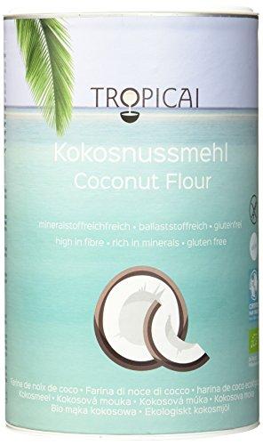Tropicai Bio-Kokosnussmehl, 2er Pack (2 x 500 g)