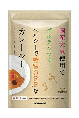 マルコメ ダイズラボ 大豆粉のカレールー 120g×5個