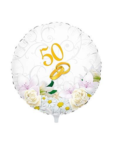 Palloncino 50 anni di matrimonio anniversario cinquantesimo nozze d oro