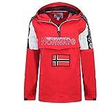 Geographical Norway ASTINA HALF ZIP Damen Jacke, Rot 42