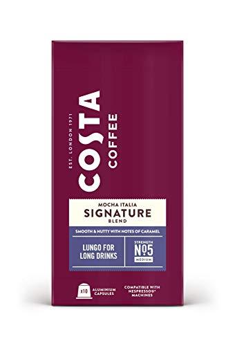COSTA COFFEE Aluminium Nespresso Compatible Signature Blend Lungo, 600 g