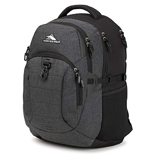 High Sierra Jarvis Laptop Backpack - Business Laptop Bag with Dedicated Laptop Compartment - High School or College Laptop Backpack - Perfect for Students or Professionals