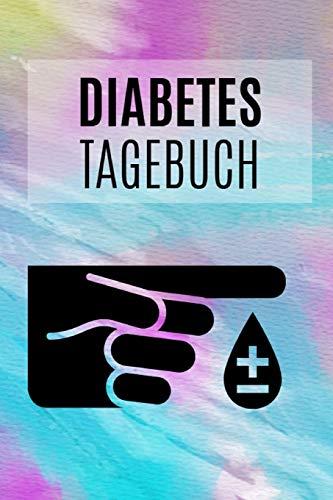Diabetes Tagebuch: DIN A5 • Insulin Kalender • Diabetiker Notizbuch • Diabetes Notizblock • Blutzuckerspiegel Pass • Blutzucker Block • Blutzuckertagebuch