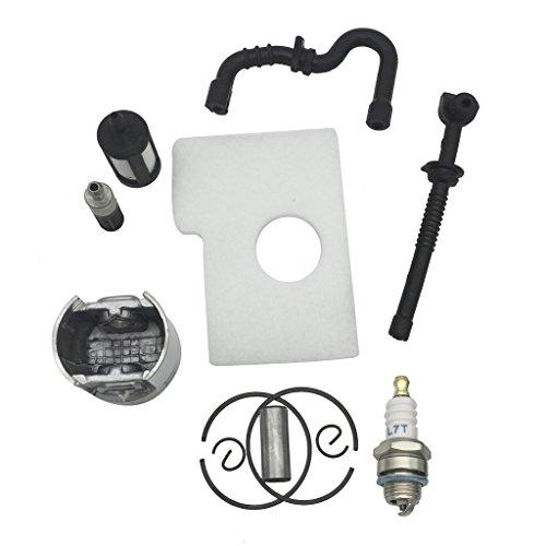#N/A Juego de pistón y filtro de aire de 38 mm para 018 MS180 MS 180
