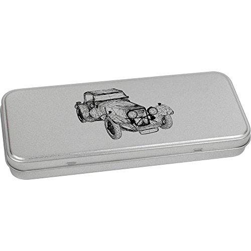 180mm x 75mm 'Voiture Ancienne' boîte de Papeterie métal (TT00053459)