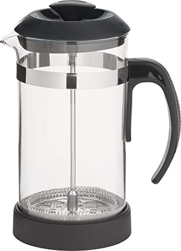 Trudeau French 1-Liter Coffee Press, Black, 1 Liter
