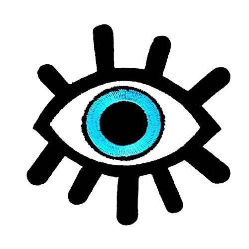 Evil Eye Patch All Seeing Eye Patch Cool Iron On Patches Funny Patches For Jackets