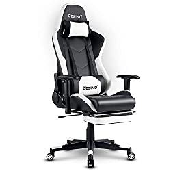 DESINO Gaming Chair - Best PC Gaming Chair With Footrest