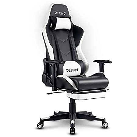 DESINO Gaming Chair - Best PC Gaming Chair With Footrest under 200