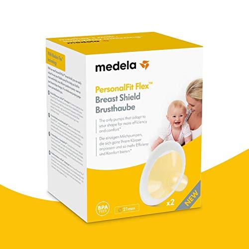 Medela PersonalFit Flex - Imbuto per tiralatte, trasparente, S