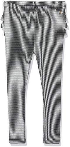 Petit Bateau Beaucoup Leggings, Multicolore (Smoking/Marshmallow 01), Nouveau-né (Taille Fabricant: 12M 12mois) Bébé Fille
