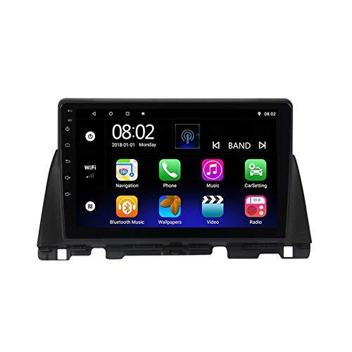 2 DIN Bluetooth Radio Coche Autoradio, con 9 Pulgadas HD Pantalla Táctil, Soporte Bluetooth Manos Libres/Mirror Link/FM/1080P Video/USB, para Kia Optima 4 JF 2015-2020,Quad Core,WiFi 1+32