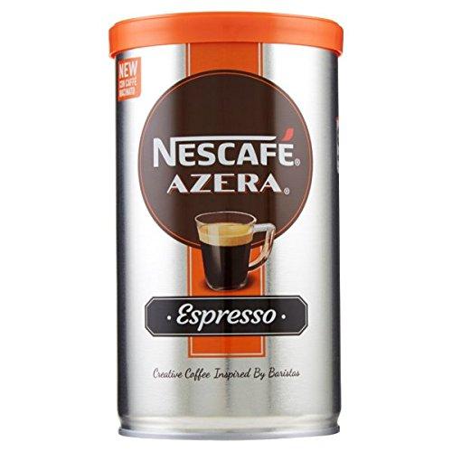 NESCAFE Azera Espresso Cup Barista Instant Coffee Arabica Ground Arabic Beans (1 Can / 100 gm)