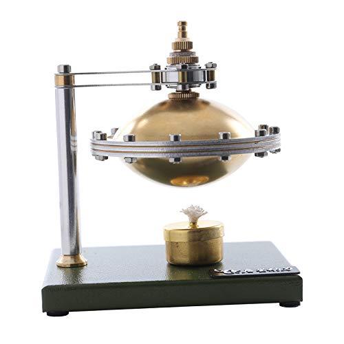 Hellery Baja Temperatura Stirling Motor Vapor Calor educación Modelo Juguete DIY Kit para la decoración de la Oficina del hogar