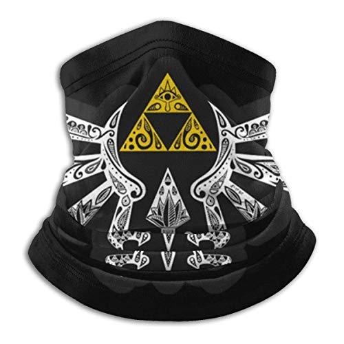 ULNIKU-T The Legend of Zelda Triforce - Braga de cuello unisex de microfibra