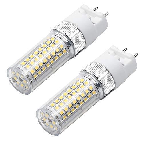 MENGS 2 Stück G12 LED Lampe 1600lm Leuchtmittel Brine 18W LED Mais Licht Ersatz 140W Halogenlampen 3000K Warmweiß 360 ° Abstrahlwinkel CRI>80, AC 85-265V