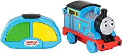 Easy to use remote control Move Thomas forwards and backwards For best performance, use on a hard flat surface or low pile rug or carpeting Requires 6 AAA batteries (3 for engine and 3 for remote control), not included