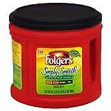 PACK OF 3 - Folgers Simply Smooth Medium Roast Ground Coffee, 31.1 oz