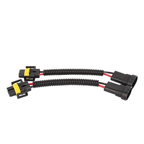 TOMALL H11 LED faro H8 Faros antiniebla Extensión cableado Conector Adaptador de enchufe 12 cm (5 pulgadas)