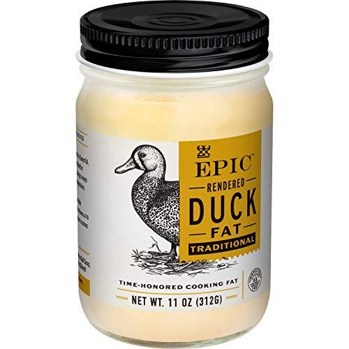 EPIC Duck Fat, Keto Consumer Friendly, Whole30, 11 Oz jar