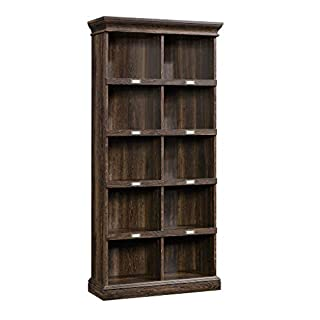 Sauder Barrister Lane Tall Bookcase, Iron Oak finish (B078J3GJ5M) | Amazon price tracker / tracking, Amazon price history charts, Amazon price watches, Amazon price drop alerts