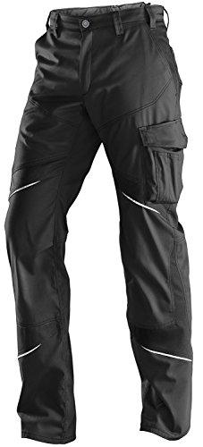 KÜBLER ACTIVIQ Arbeitshose Low (ohne Knieschutzpolstertaschen), einfarbig, schwarz, Größe 48