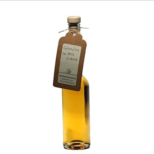 Calvados DU PAYS D'Auge - 100 ml - 40% vol, | schöne Probierflasche