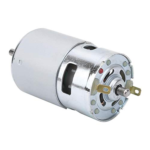 【𝐒𝐩𝐫𝐢𝐧𝐠 𝐒𝐚𝐥𝐞 𝐆𝐢𝐟𝐭】Dc 12-24V Motor, Anti-Rust Large Motor, Double for High Revolution Speed Screw 5Mm Shaft Diameter Front And Rear