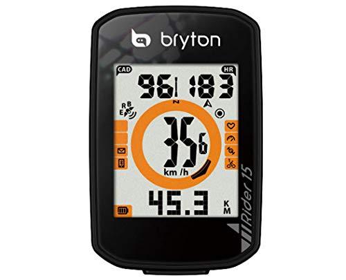 BRYTON(ブライトン)RIDER15C(ライダー15C)GPSサイクルコンピューター(ケイデンスセンサー付)TB0F0R015CBLK