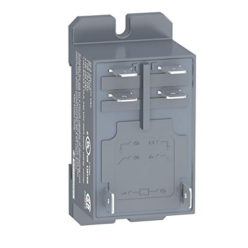 Power Relay, DPST-NO, 230 VAC, 30 A, Zelio RPF Series, DIN Rail, Panel