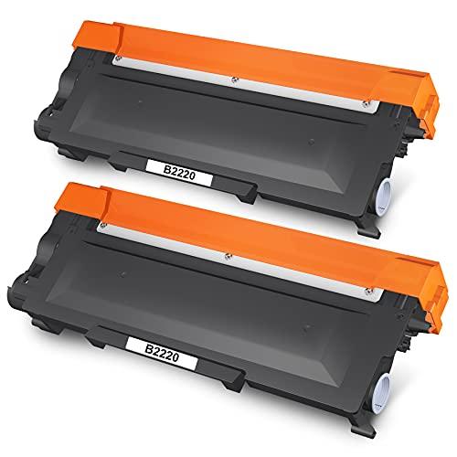 7Magic TN2220 TN2210 Kompatibel Toner, Kompatibel für Brother TN2220 TN2210 für Brother MFC-7360N MFC-7360 MFC-7460DN DCP-7055 DCP-7055W DCP-7070DW DCP-7065DN HL-2240 HL-2250DN FAX-2840