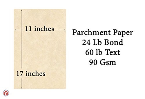 Imitation Parchment Paper, 60 Text 11 x 17 Inches, 50 Sheets (Natural) Photo #2