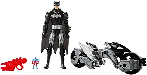 Mattel DXX16 De plástico vehículo de Juguete - Vehículos de Juguete (De plástico, Multicolor, Justice League Action Batman, 4 año(s), Niño, Batman)
