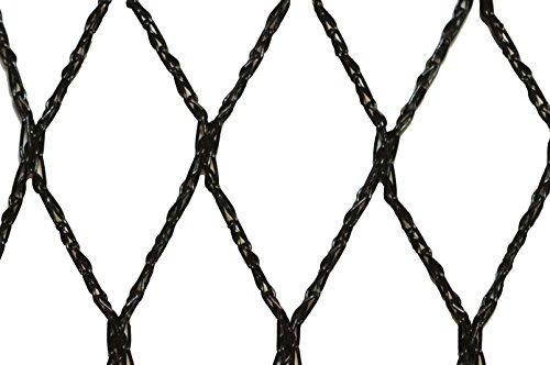 Filet anti-oiseaux - Maille de 35mm - Grande dimension Noir 10m x 100m